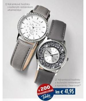 e857a6731 ARCHIV | Náramkové hodinky s koženým remienkom »Kamienky« v akcii platné  do: 2.1.2018 | Zlacnene.sk