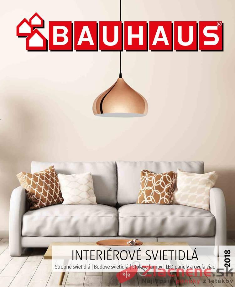 Leták Bauhaus - Bauhaus 5.9.2018 - 31.1.2019 Interiérové svietidlá - strana 1