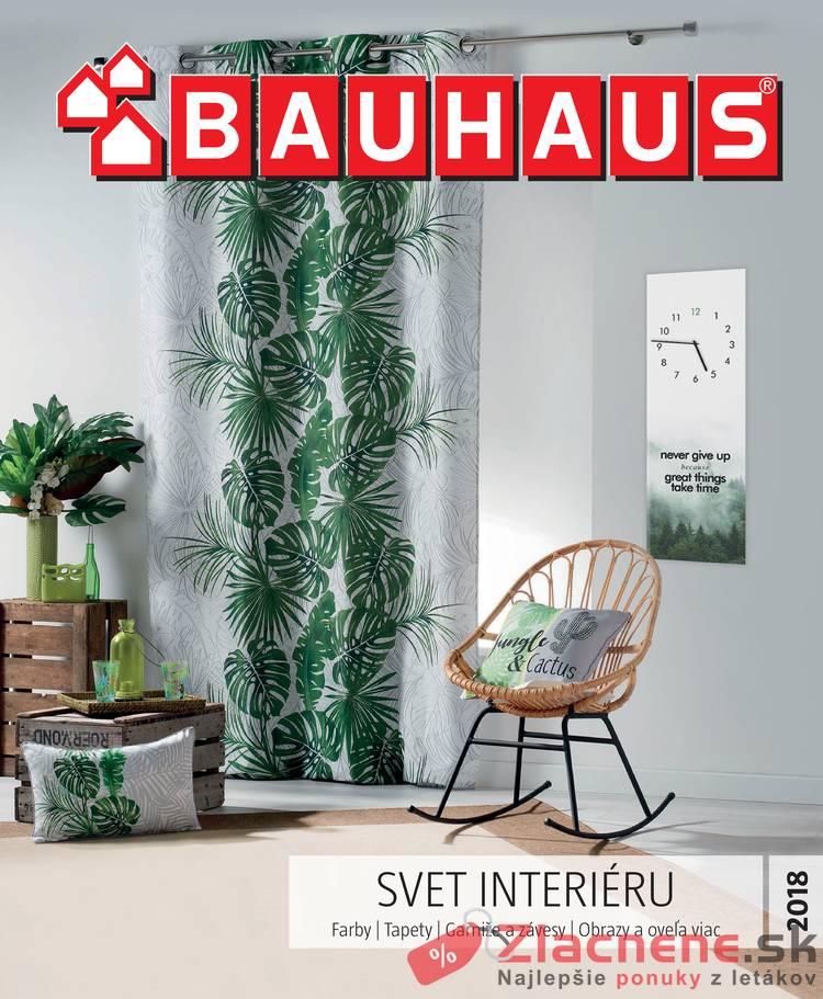 Leták Bauhaus - Bauhaus 12.9.2018 - 31.3.2019 Svet Interiéru - strana 1