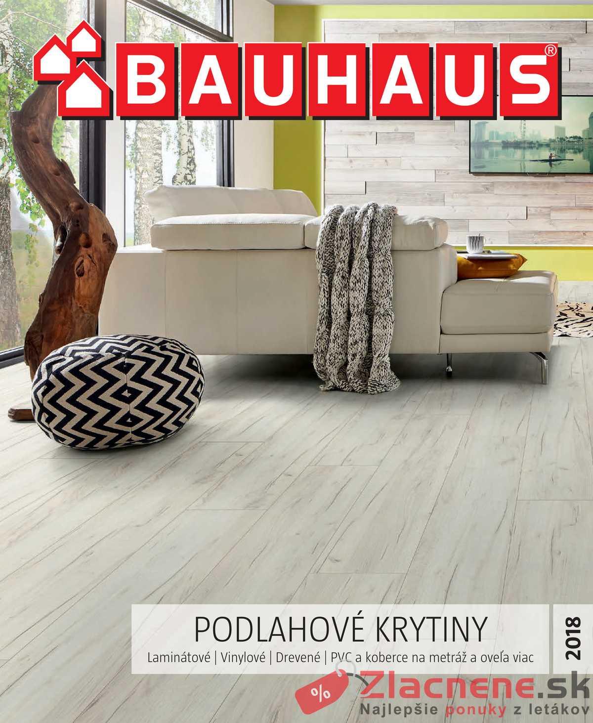 Leták Bauhaus - Bauhaus 17.10.2018 - 31.3.2019 Podlahové krytiny - strana 1