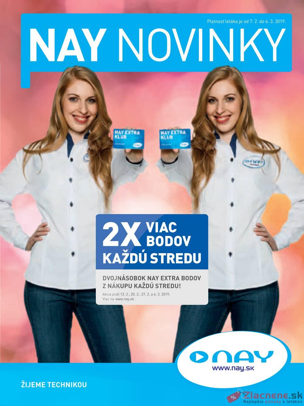 Leták NAY - Nay 7.2 - 6.3 - strana 1