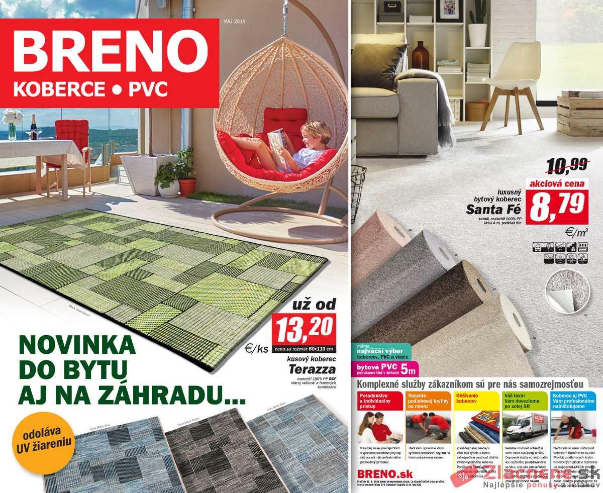 Leták Koberce Breno - Koberce Breno 1.5. - 31.5. - strana 1