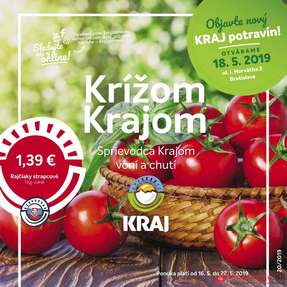 Leták Kraj - Kraj od 16.5. do 22.5.2019 - strana 1