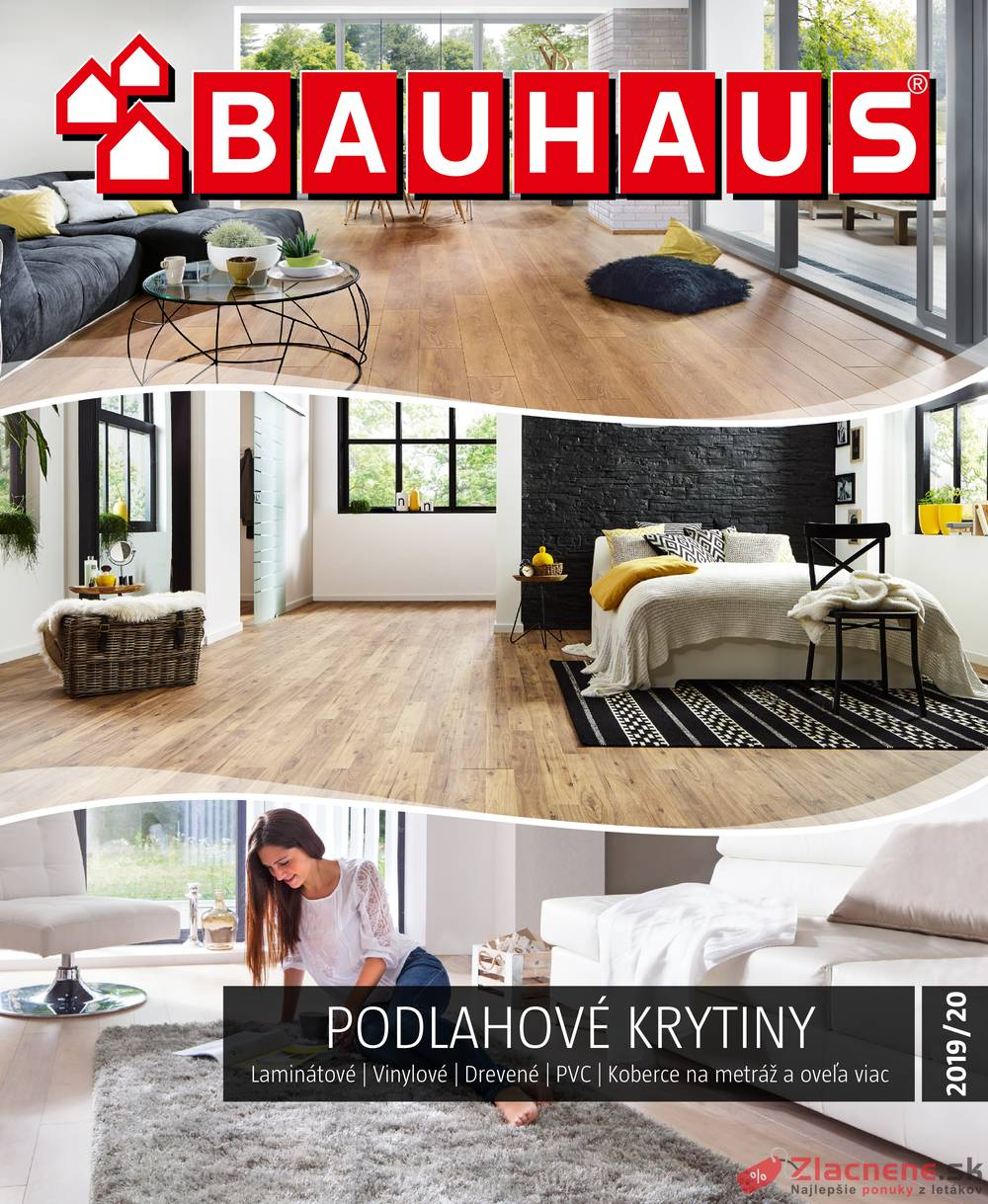 Leták Bauhaus - Bauhaus PODLAHOVÉ KRYTINY od 14.10. do 31.3.2020 - strana 1