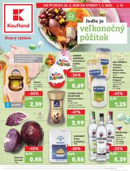 Leták Kaufland 26.3. - 1.4. - Kaufland Spišská Nová Ves