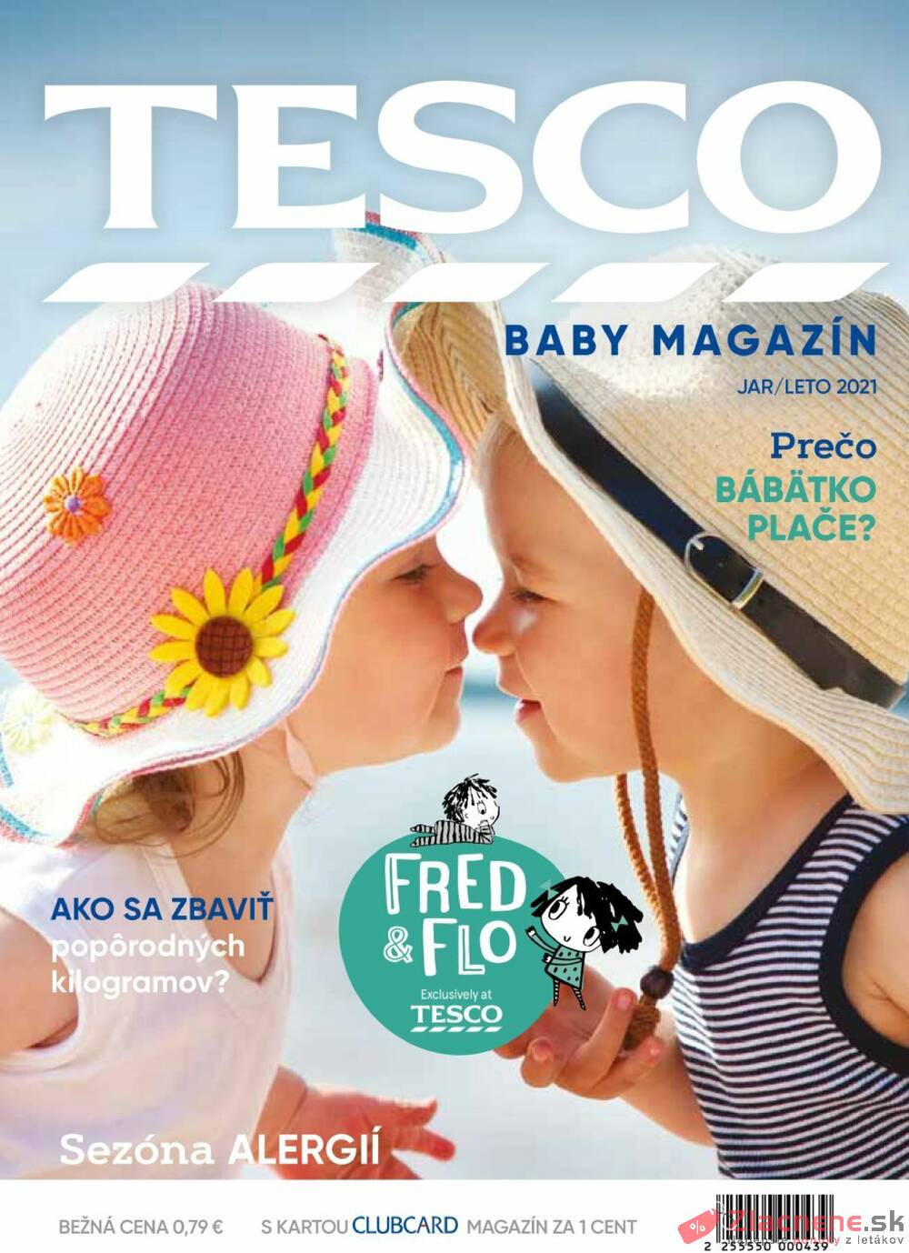 Leták Tesco - Tesco Magazín Baby 21.5. - 22.10. - strana 1
