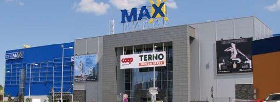 Zábavno obchodné centrum Max Trnava -