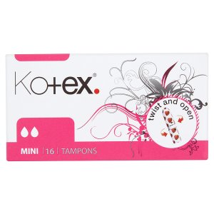 Kotex Mini tampóny 16 ks