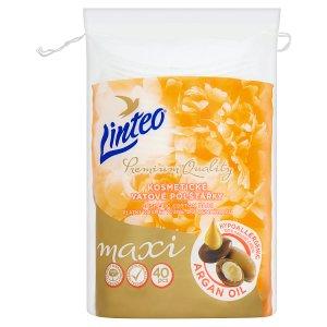 Linteo Premium Quality Maxi kozmetické vatové vankúšiky 40 ks
