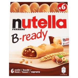Nutella B-ready Oblátka plnená nátierkou 6x22 g