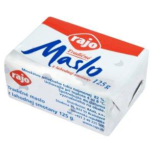 Rajo Tradičné maslo 125 g