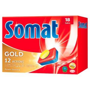 Somat tablety na automatické umývanie riadu 18ks 342 g