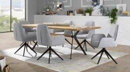 Jedáleň- stolička s opierkou rúk